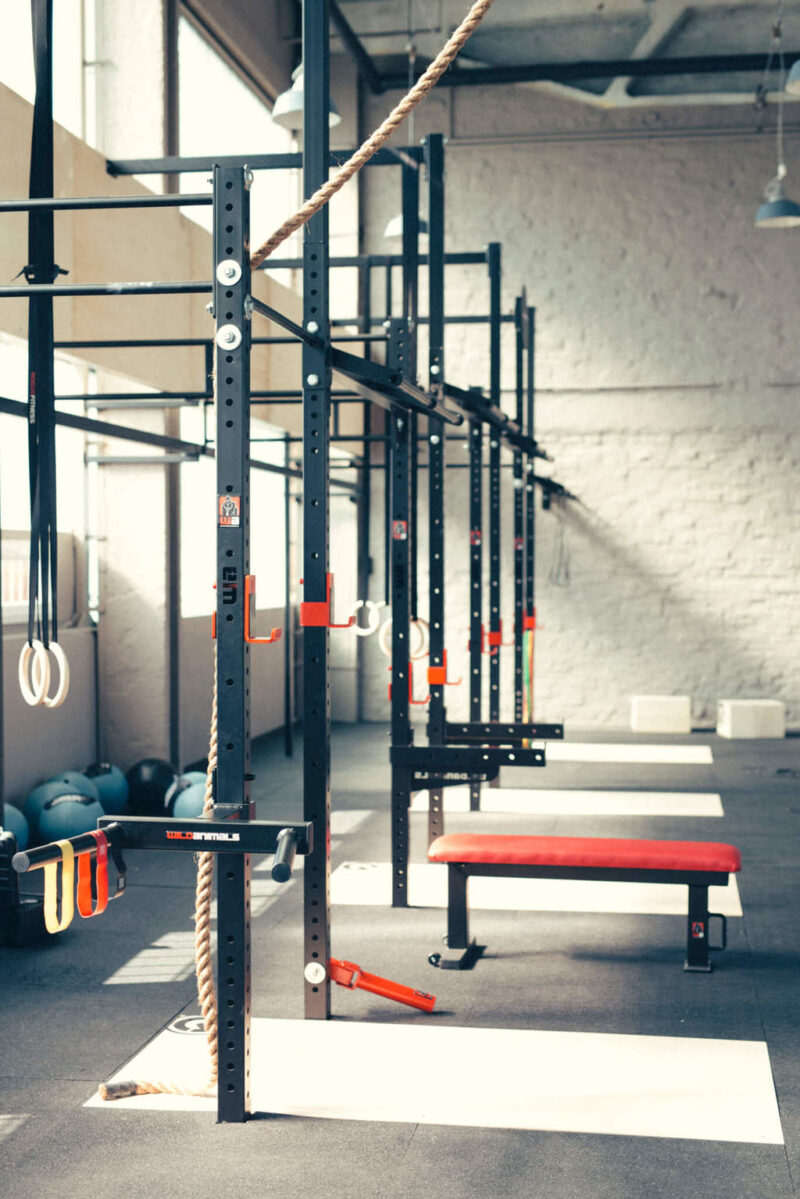 wall-mount power rack system