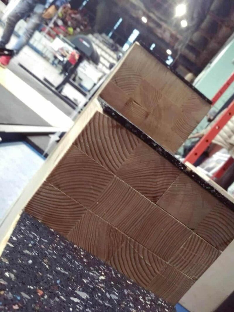 Snatch létra - stair blocks